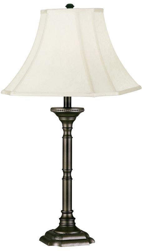 Kenroy Home 33050 Table Lamp from the Wentworth Collection Burnished