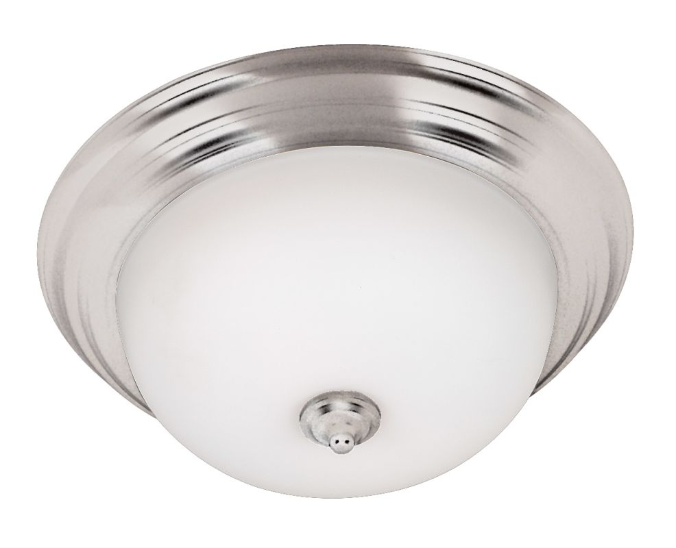 Kenroy Home 80364-LQ Energy Star Two Light Flush Mount Ceiling Fixture