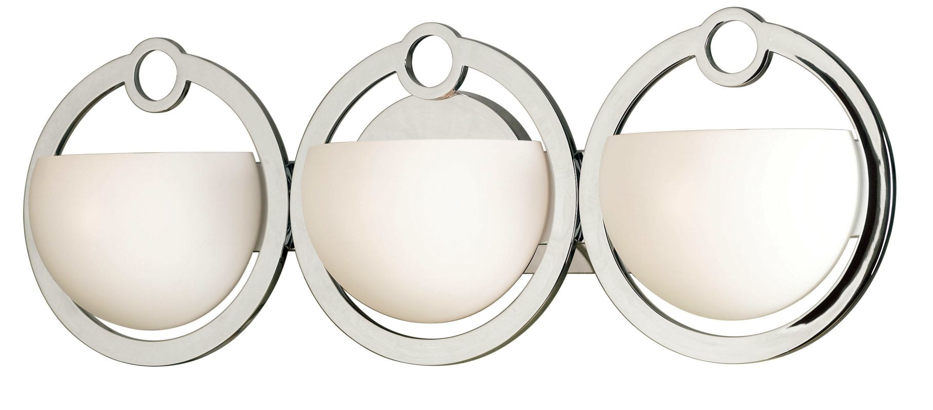 Kenroy Home 91553 Three Light Bathroom Fixture from the Nova Sale $243.00 ITEM: bci907210 ID#:91553CH UPC: 53392085360 :