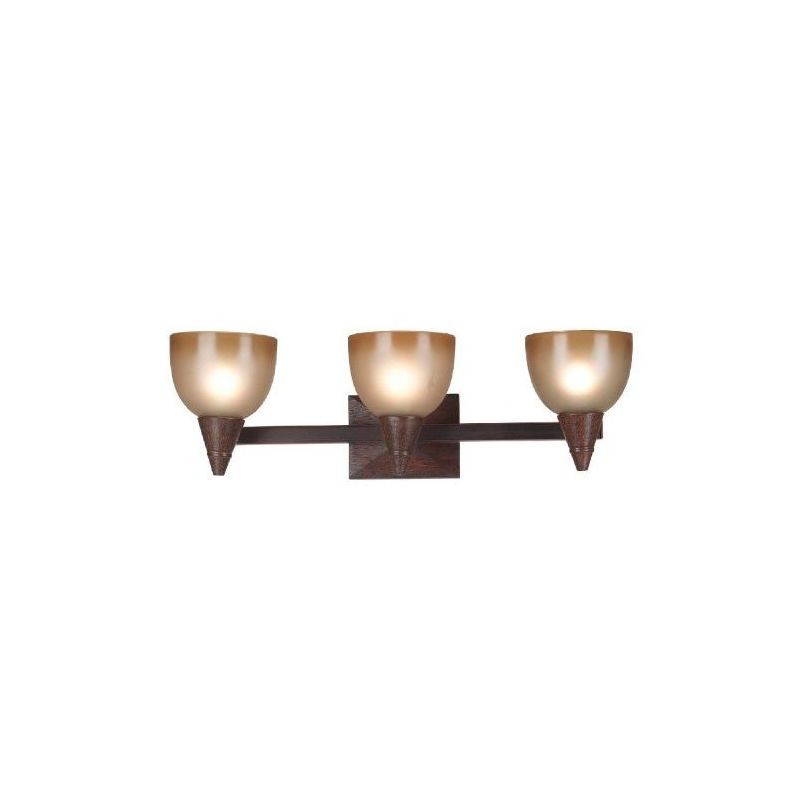 """Kenroy Home 92112 26"""" Wide Three Light Up Lighting Vanity from the"""