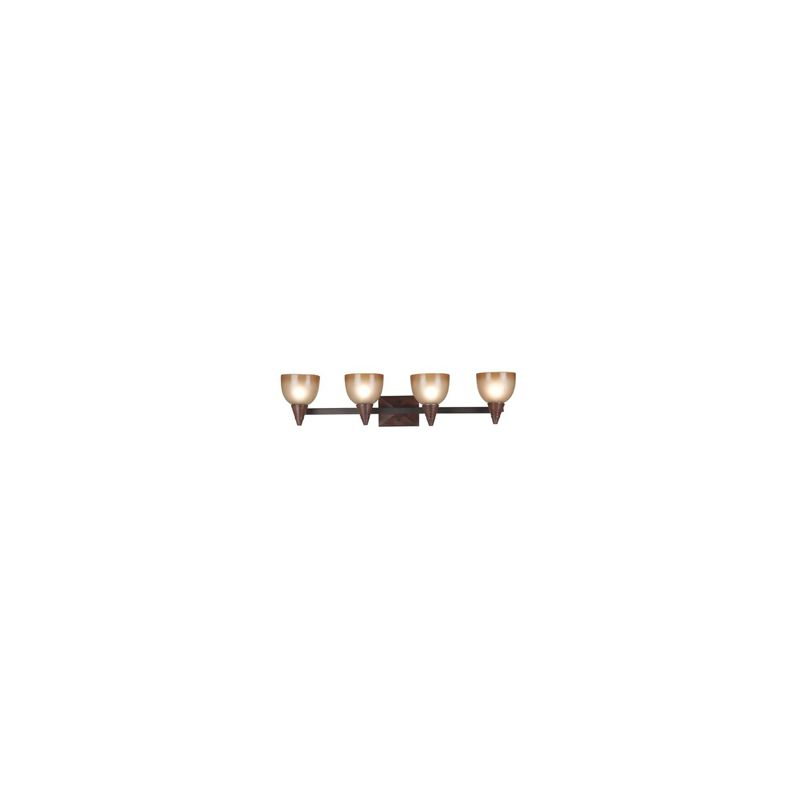 """Kenroy Home 92113 36"""" Wide Four Light Up Lighting Vanity from the"""
