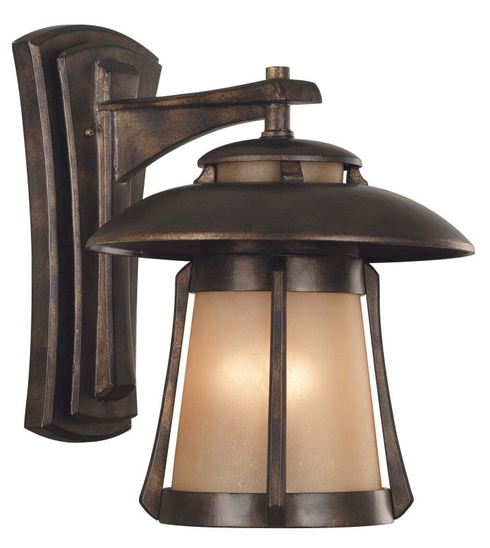Kenroy Home 03196 Laguna 3 Light Large Outdoor Wall Sconce Golden