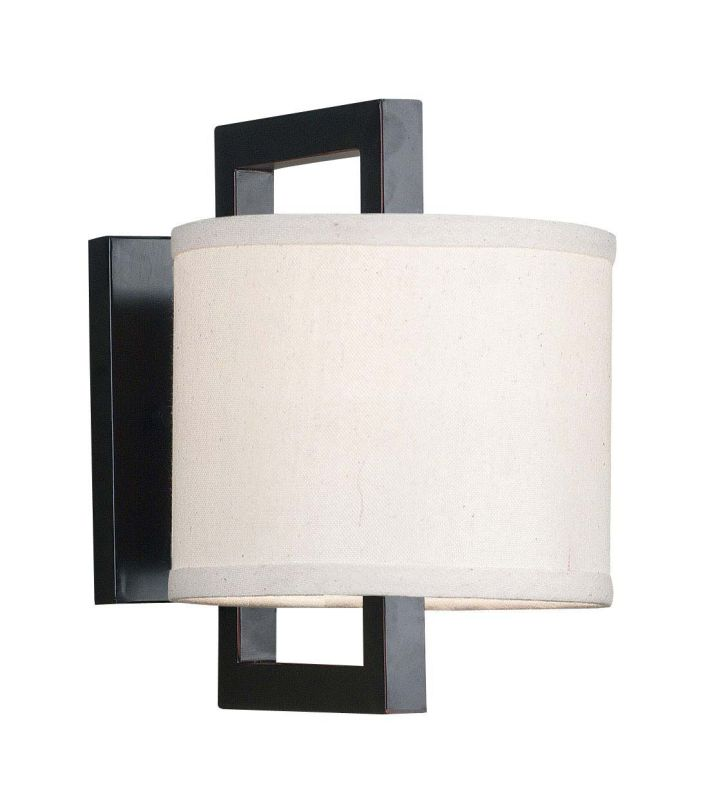 Kenroy Home 10063ORB Endicott 1 Light Wall Sconce Oil Rubbed Bronze
