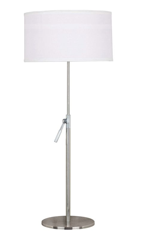 Kenroy Home 20110BS Propel 1 Light Table Lamp Brushed Steel Lamps