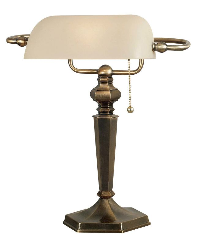 Kenroy Home 20615 Mackinley 1 Light Banker´s Lamp Georgetown Bronze