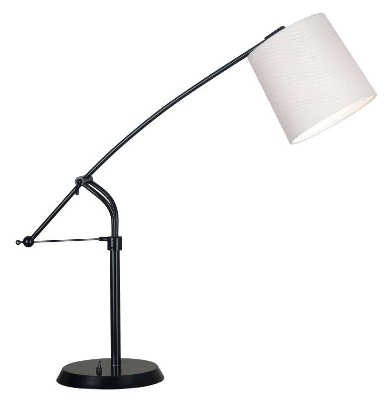 Kenroy Home 20813ORB Reeler 1 Light Boom Arm Desk Lamp Oil Rubbed