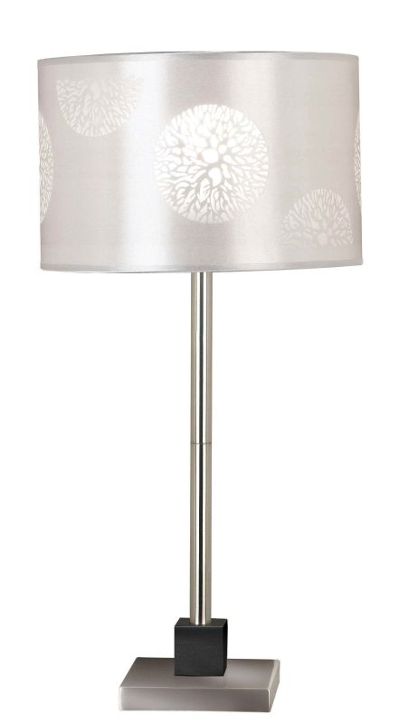 Kenroy Home 20962 Cordova 1 Light Table Lamp Brushed Steel Lamps Sale $79.38 ITEM: bci1275368 ID#:20962BS UPC: 53392108557 :
