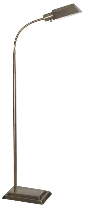 Kenroy Home 20967AB Steward 1 Light Gooseneck Floor Lamp Antique Brass Sale $111.78 ITEM: bci2406368 ID#:20967AB UPC: 53392083007 :