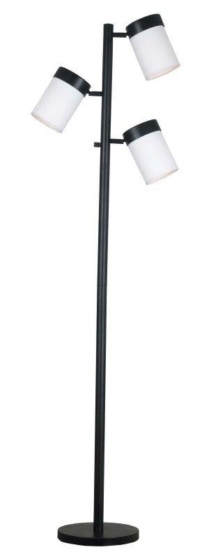 Kenroy Home 20970 Roarke 3 Light Adjustable Floor Lamp Oil Rubbed