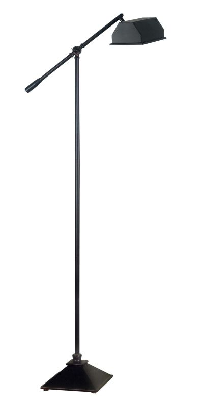 Kenroy Home 20983 Villager 1 Boom Arm Floor Lamp Oil Rubbed Bronze