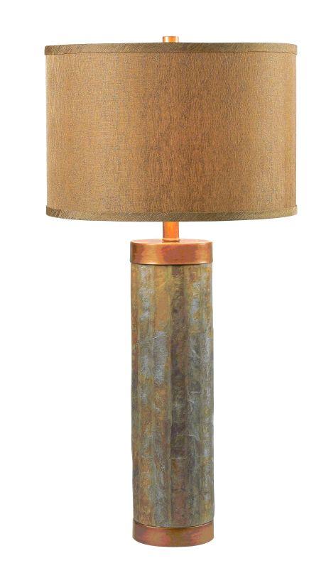 Kenroy Home 21036 Mattias 1 Light Table Lamp Natural Slate Lamps