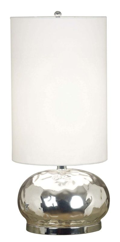 Kenroy Home 21099 Roxie 1 Light Table Lamp Mercury Glass Lamps