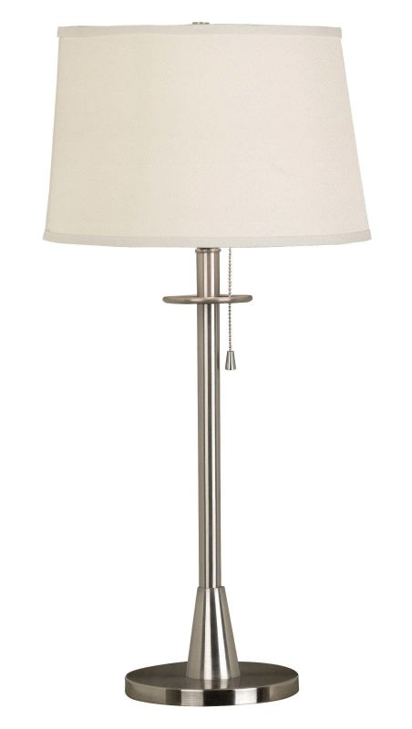 Kenroy Home 21446 Rush 1 Light Table Lamp Brushed Steel Lamps