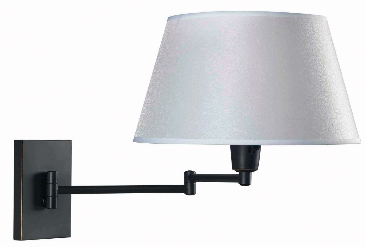 Kenroy Home 30100 Simplicity 1 Light Plug In Wall Sconce Oil Rubbed