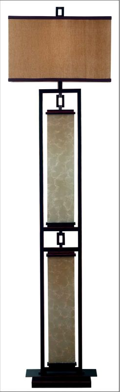 Kenroy Home 30742 Plateau 1 Light Floor Lamp Oil Rubbed Bronze Lamps