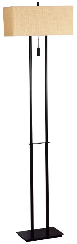 Kenroy Home 30817 Emilio 2 Light Floor Lamp Bronze Lamps