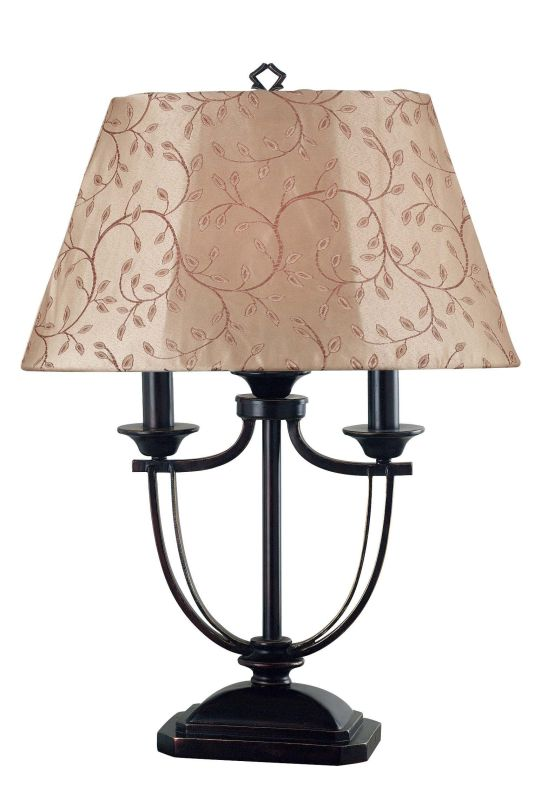 Kenroy Home 31365 Belmont 1 Light Outdoor Table Lamp Oil Rubbed Bronze