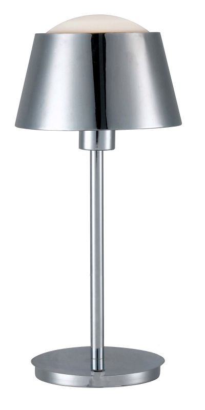 Kenroy Home 31999 Kramer 1 Light Table Lamp Chrome Lamps