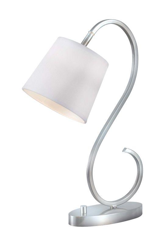 Kenroy Home 32009 Wilson 1 Light Gooseneck Desk Lamp Brushed Steel