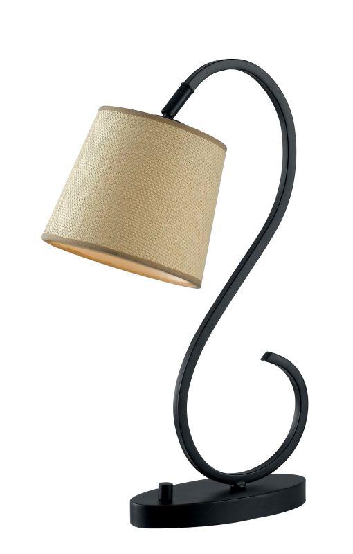 Kenroy Home 32009 Wilson 1 Light Gooseneck Desk Lamp Oil Rubbed Bronze