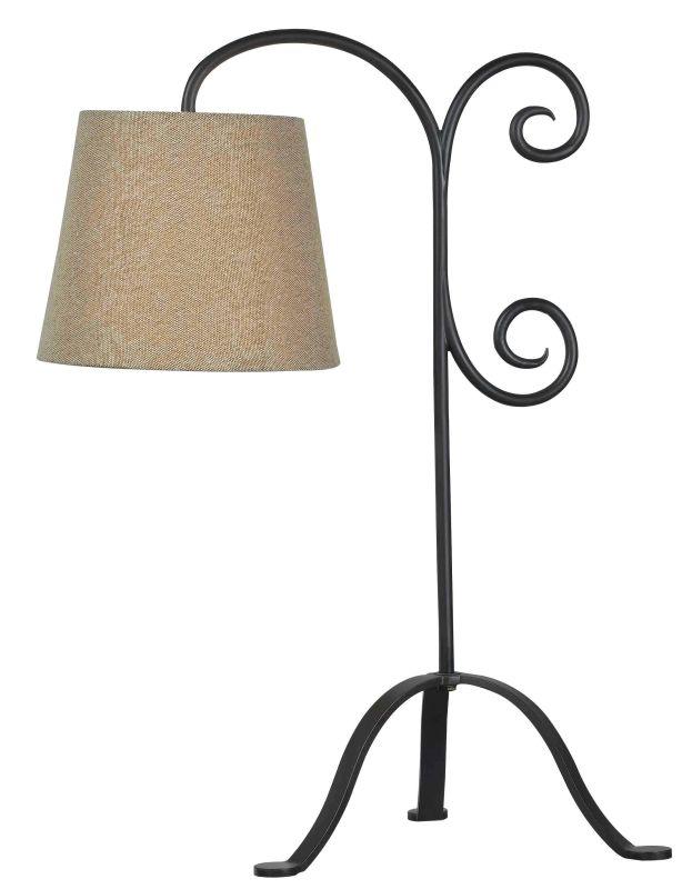 Kenroy Home 32086 Morrison 1 Light Table Lamp Bronze Graphite Lamps