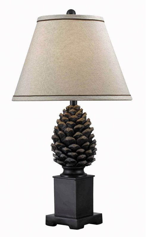 Kenroy Home 32114 Spruce 1 Light Table Lamp Aged Bronze Lamps