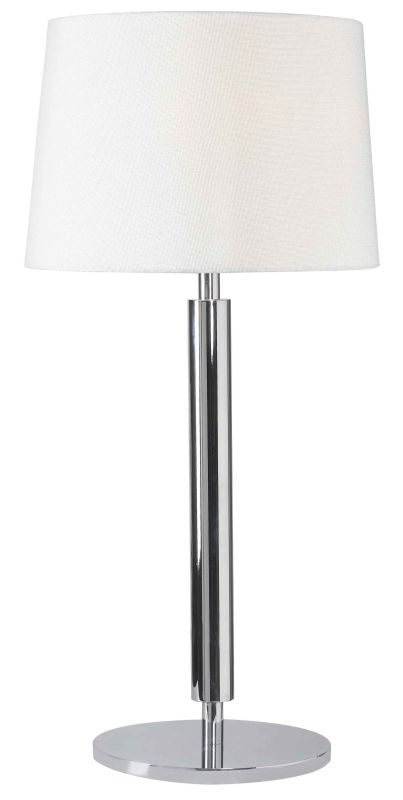 Kenroy Home 32134 Milano 1 Light Table Lamp Chrome Lamps