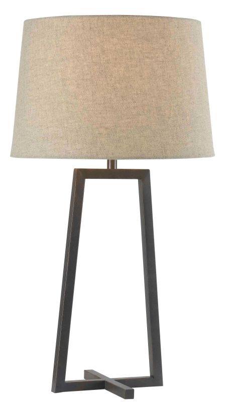 Kenroy Home 32150 Ranger 1 Light Table Lamp Oil Rubbed Bronze Lamps