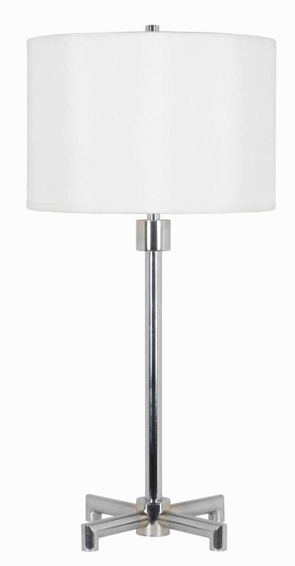 Kenroy Home 32154 Rogue 1 Light Table Lamp Chrome Lamps
