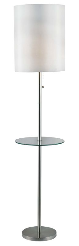 Kenroy Home 32171 Exhibit 1 Light Floor Lamp Brushed Steel Lamps Sale $129.60 ITEM: bci1948112 ID#:32171BS UPC: 53392114121 :