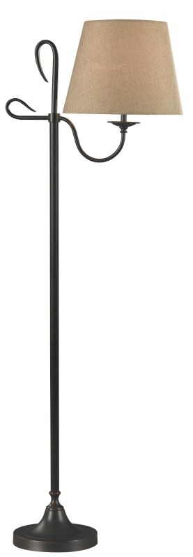 Kenroy Home 32178 Cromwell 1 Light Floor Lamp Golden Flecked Bronze