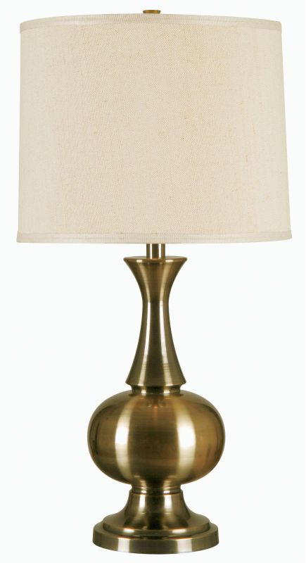 Kenroy Home 32201 Harriet 1 Light Table Lamp Antique Brass Lamps