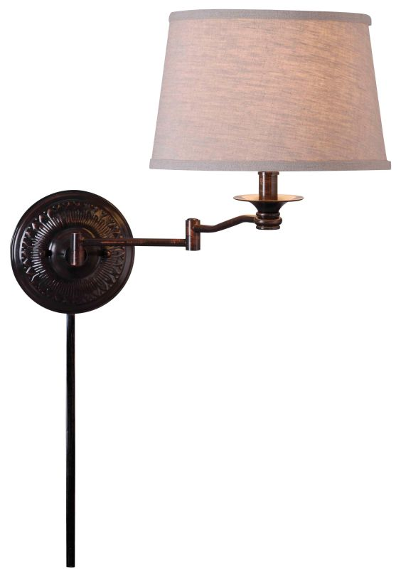 Kenroy Home 32217 Riverside 1 Light Candle-Style Sconce Copper Bronze