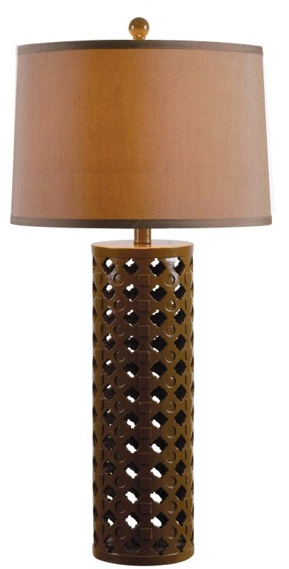 Kenroy Home 32272 Marrakesh 1 Light Table Lamp Chocolate Lamps