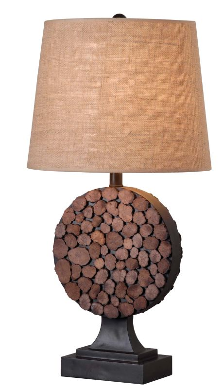 Kenroy Home 32310 Knot 1 Light Table Lamp Bronze Lamps
