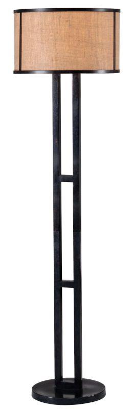 Kenroy Home 32313BRZ Keen 1 Light Column Floor Lamp Bronze Lamps