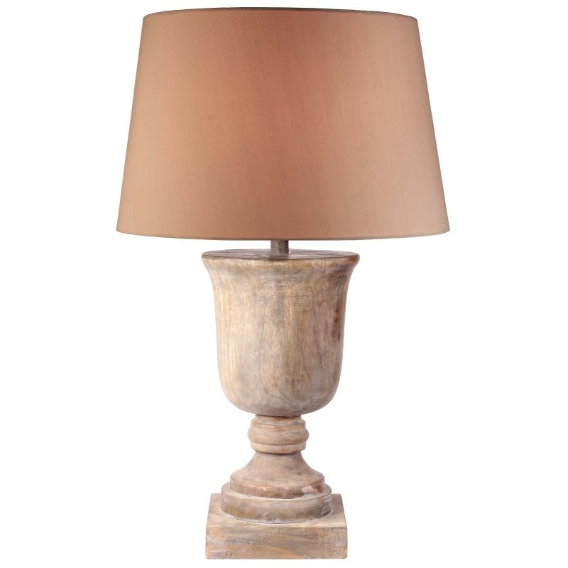 Kenroy Home 32426NAW Hickory 1 Light Table Lamp Naturally Aged Wood