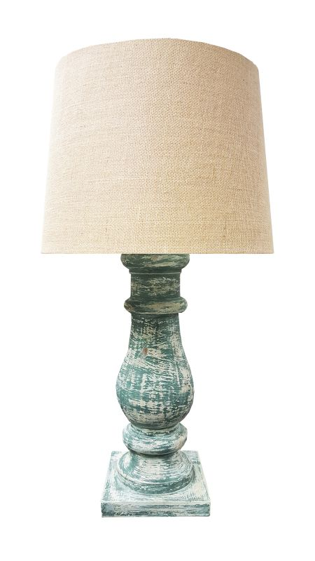 Kenroy Home 32431ATW Tango 1 Light Table Lamp Antique Walnut Lamps