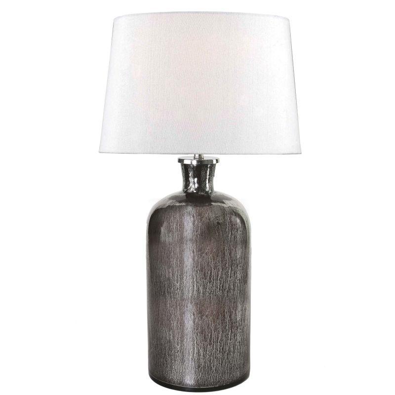 Kenroy Home 32436 Asher 1 Light Table lamp Acid Mercury Glass Lamps