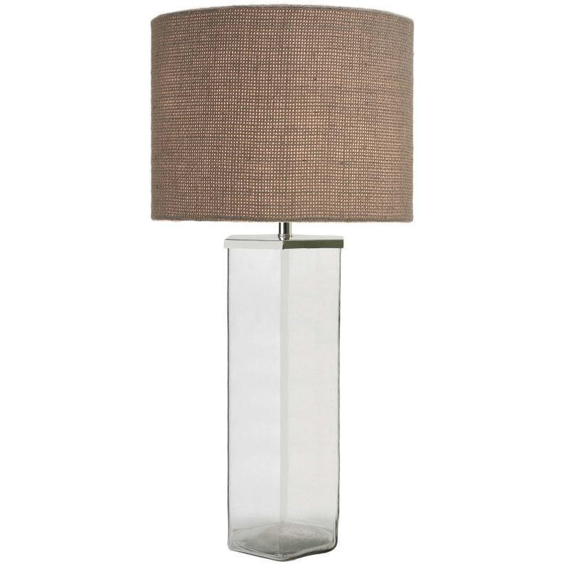 Kenroy Home 32437 Colin 1 Light Table lamp Clear Glass Lamps