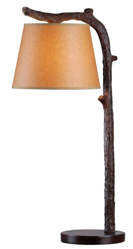 Kenroy Home 32451 Overhang 1 Light Table lamp Bronzed Lamps