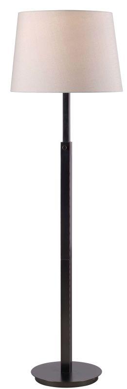 Kenroy Home 32465 Crane 1 Light Floor lamp Oil Rubbed Bronze Lamps