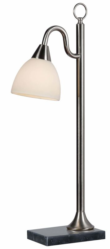 Kenroy Home 32488 Lincoln 1 Light Table lamp Brushed Steel Lamps