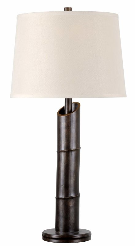 Kenroy Home 32537 Bamboo 1 Light Table lamp Bronzed Lamps Sale $105.30 ITEM: bci2607595 ID#:32537BRZD UPC: 53392093839 :