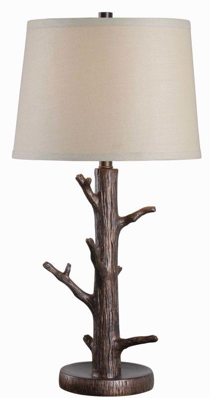 Kenroy Home 32550 Jeweler 1 Light Table lamp Bronzed Lamps
