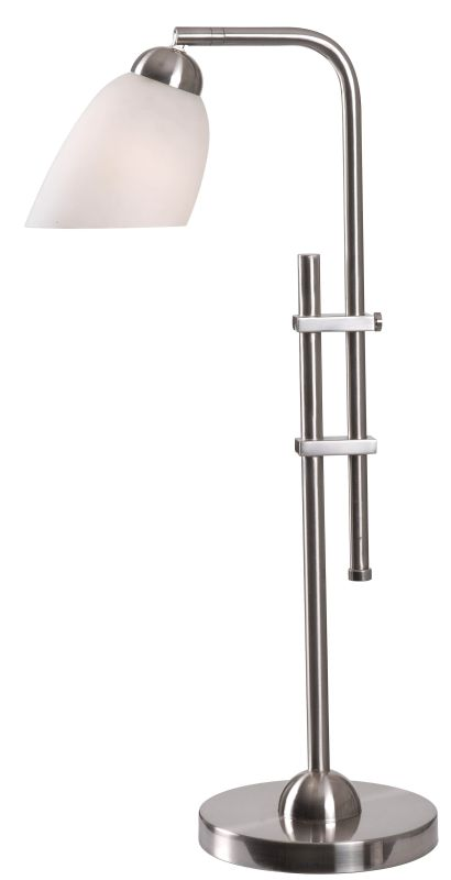 """Kenroy Home 32616 Extender 1 Light 31"""" Tall Desk Lamp with Clear Glass"""