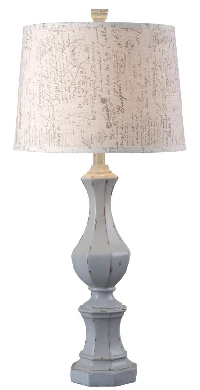 "Kenroy Home 32684 Gianni 1 Light 32"" Tall Table Lamp with Cream"
