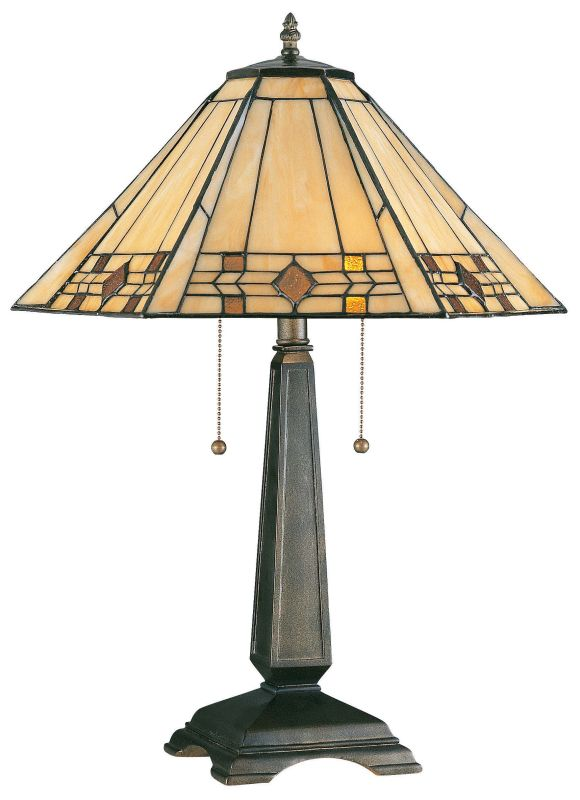 Kenroy Home 33040 Willow 2 Light Stained Glass Table Lamps Bronze Sale $196.20 ITEM: bci906303 ID#:33040BRZ UPC: 53392167806 :
