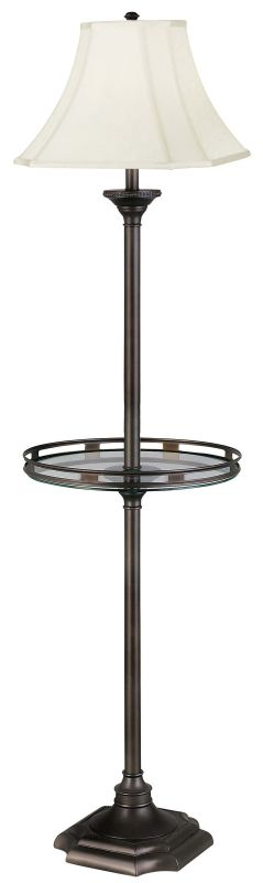 Kenroy Home 33052 Floor Lamp from the Wentworth Collection Burnished
