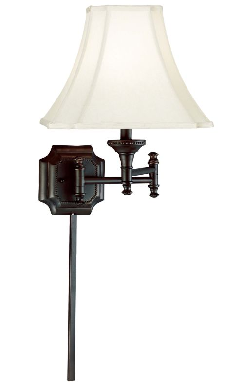 Kenroy Home 33054 Wentworth 1 Light Candle-Style Sconce Burnished